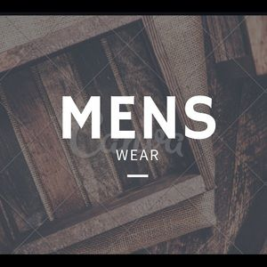 Other - Mens Clothing check it out!!